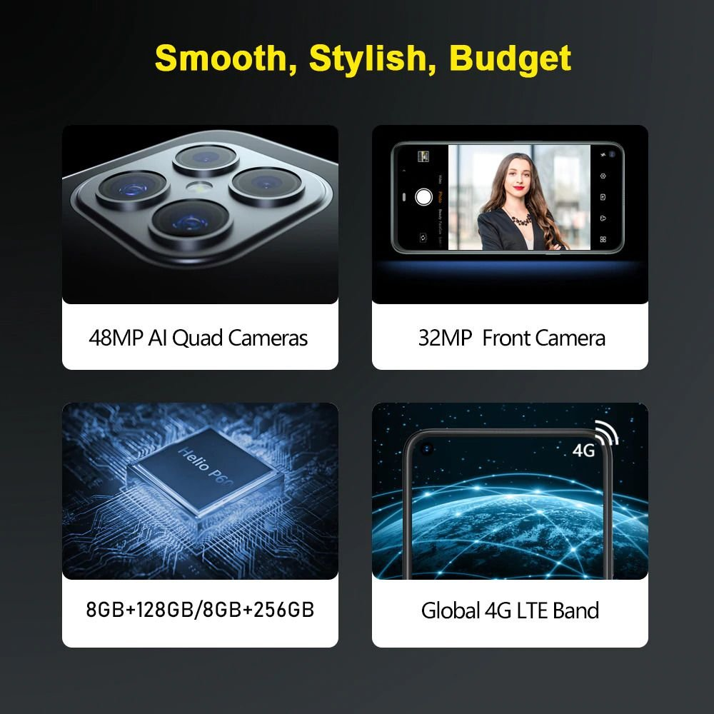 Upcoming iPhone 12 Pro Max? No, this is Cubot C30 4