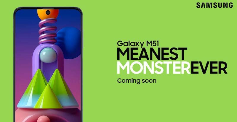 Galaxy M51: the meanest monster is on the way says Samsung 2