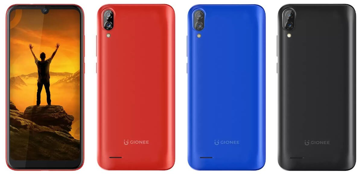 Entry-level Gionee Max with 5000mAh battery announced 1