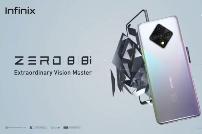 Upcoming Infinix Zero 8 will have 8GB RAM and 90Hz refresh rate 1