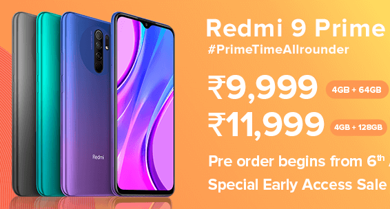Redmi 9 Prime is a rebadged vanilla 9 with P2i coating 4