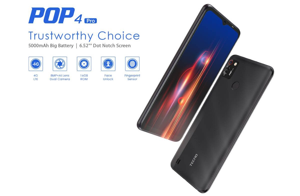 Tecno POP 4 Pro is here; has 4G LTE and 6.52-inch display 3