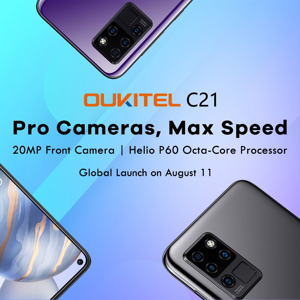 Confirmed: Oukitel C21 with Helio P60 will launch on August 11th 2
