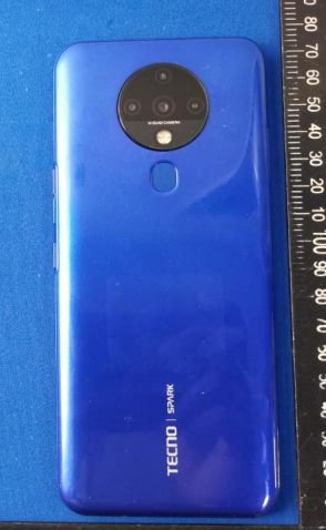 Tecno KE7, possibly the Spark 6 shows up online 1