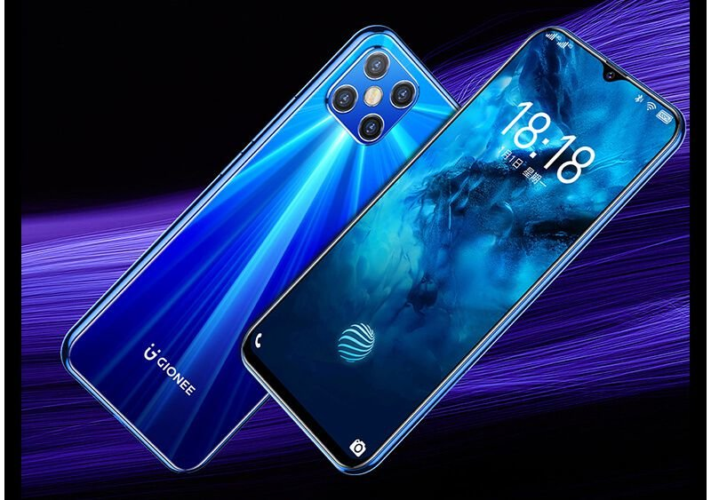 M12 Pro, first Gionee phone with in-screen fingerprint scanner 1