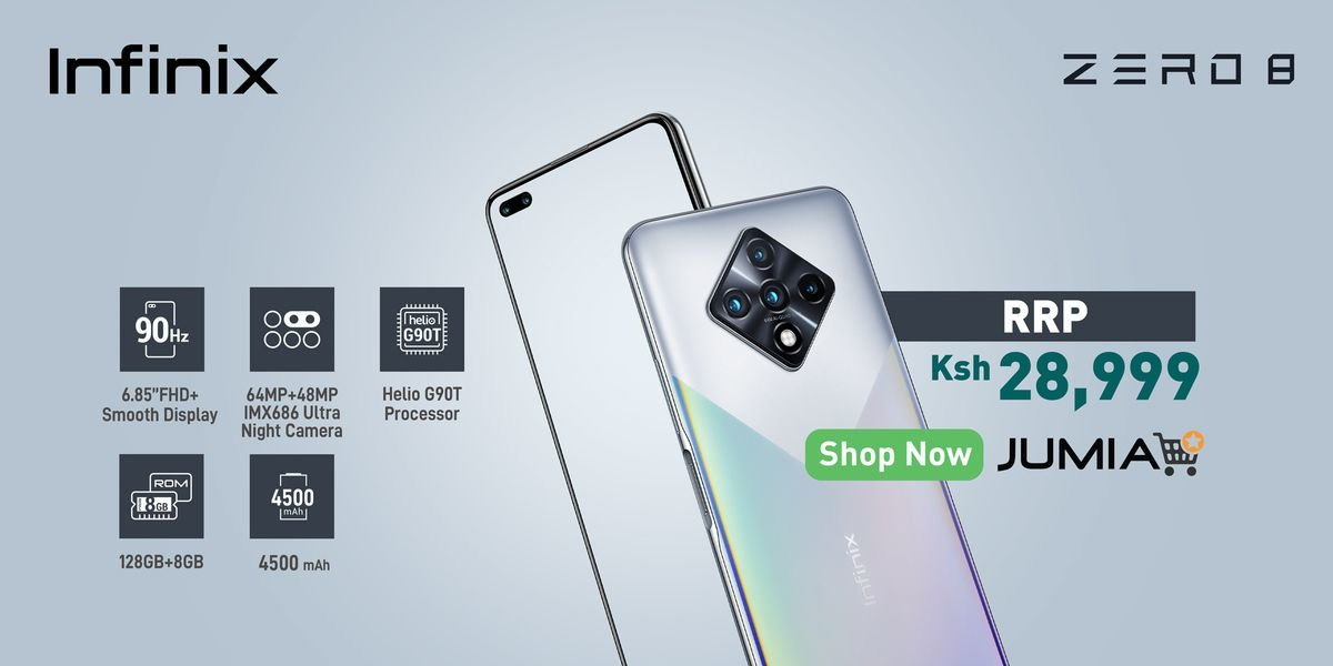 Infinix Zero 8 price in Kenya