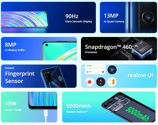 Realme C17 with Snapdragon 460 CPU announced 2