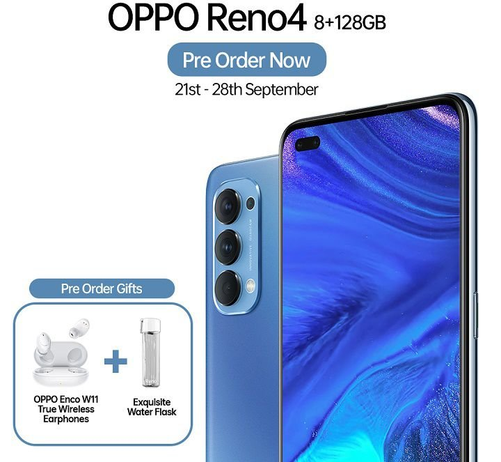 OPPO Watch and the Reno4 with dual selfie debut in Kenya 2