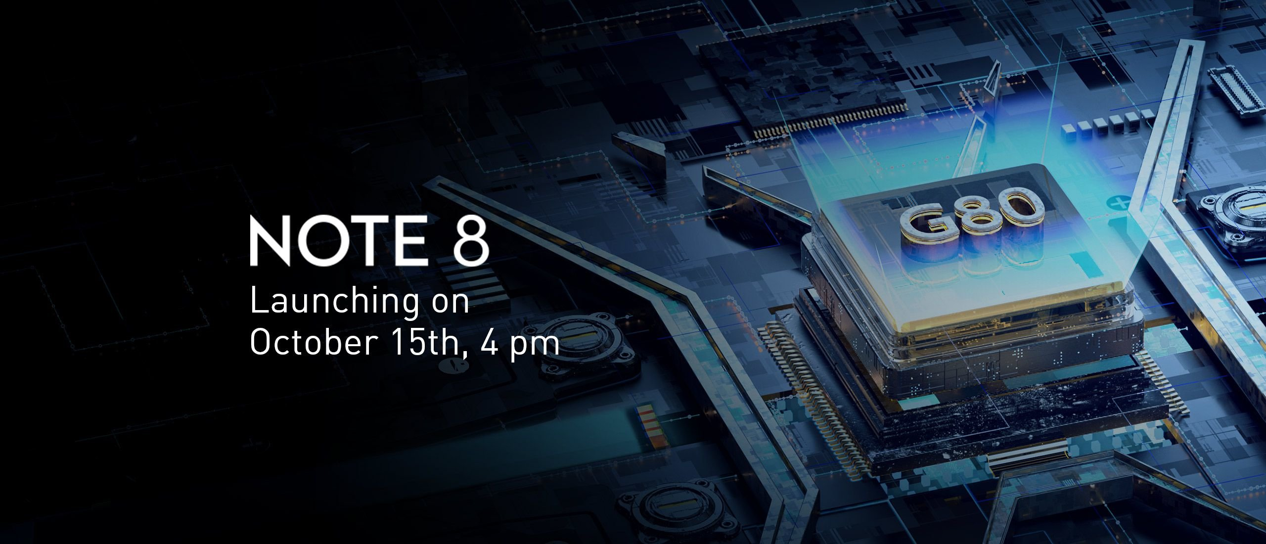 The stage is set for Infinix Note 8/8i, coming with Helio G80 2
