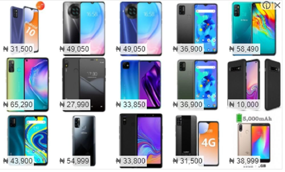 best phones under 40000 in nigeria