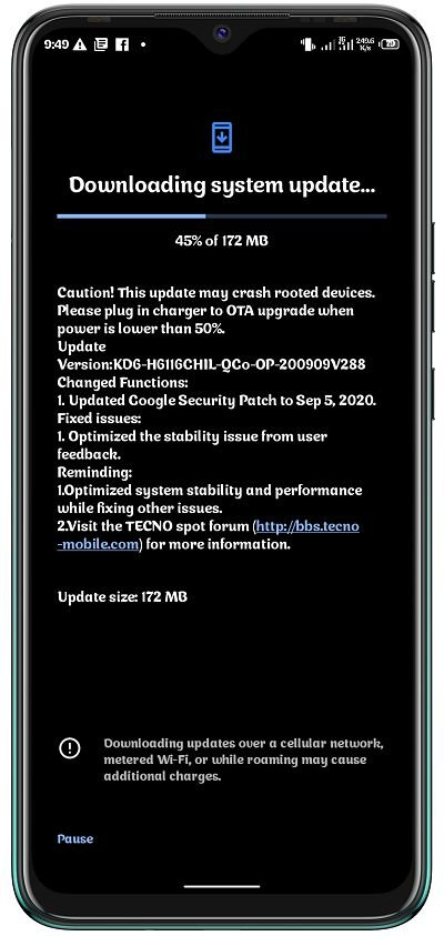 New OTA update released for Tecno Spark 5 Air and Spark 5 Pro 2