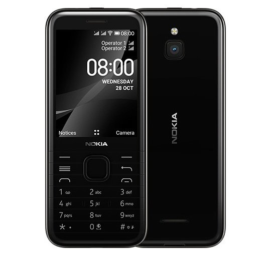 Nokia 8000 4G specifications features and price