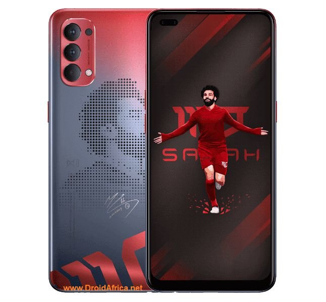 Oppo Reno4 Mo Salah Edition specifications features and features