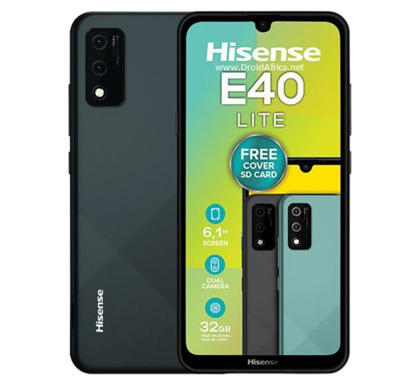 HiSense E40 Lite specifications features and price