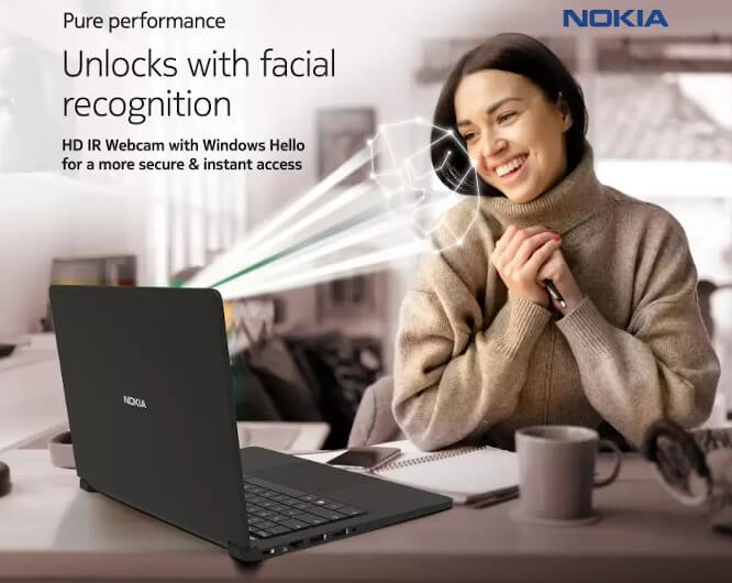 First Nokia branded laptop, Purebook X14 announced in India 2