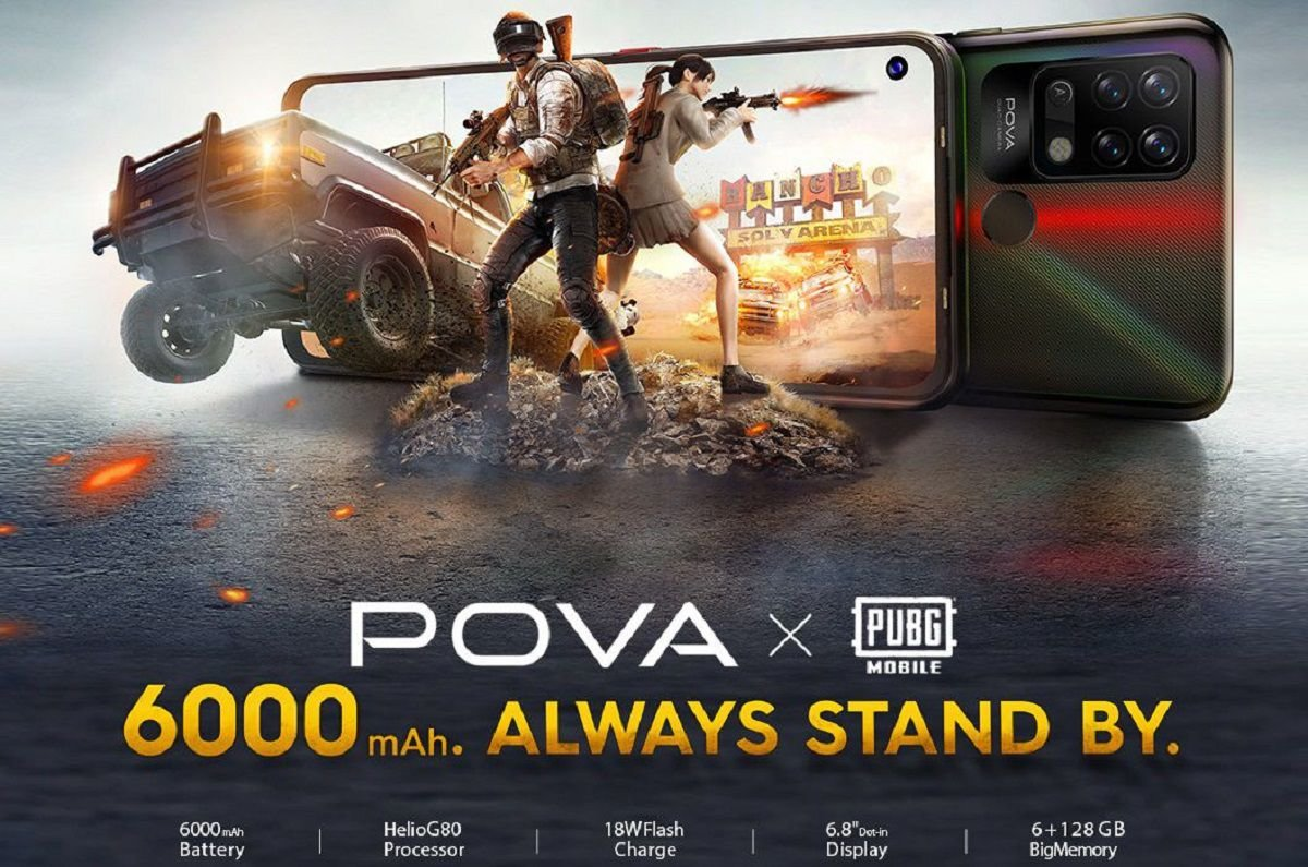 Details of Tecno Pova 2 points to a 7000mAh battery & Helio G90T CPU 2