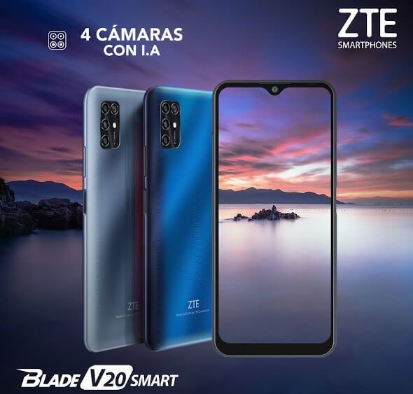 ZTE Blade V20 Smart with 6.82-inches screen announced 1