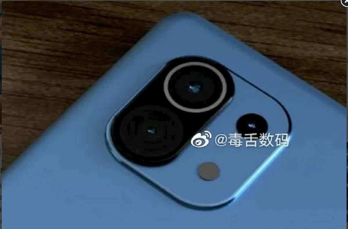 Xiaomi Mi 11: card render and real life images pops up 1