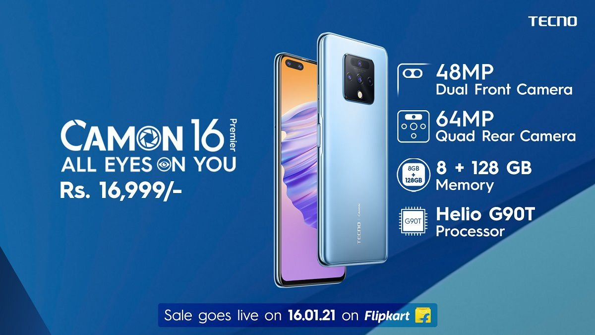 Tecno Camon 16 Premier announced in India with Helio G90T and 8GB RAM 4