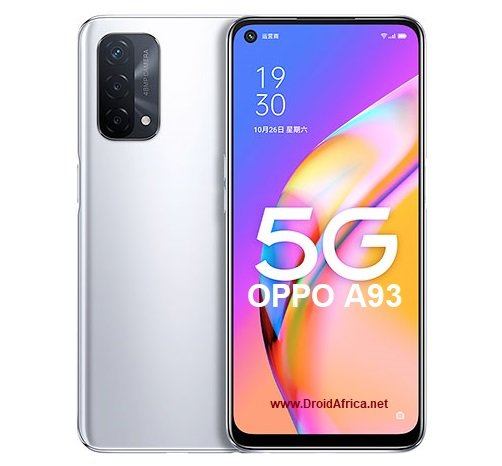 OPPO A93 5G specifications features and price