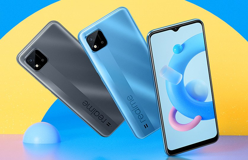 Realme C20 colors and review