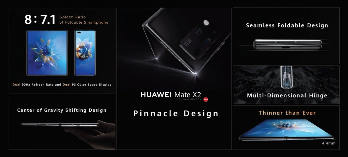 Huawei Mate X2 now official in China