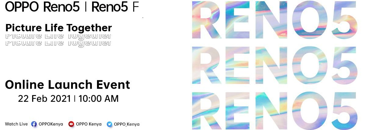 OPPO Reno5 and Reno5 F launch Kenya