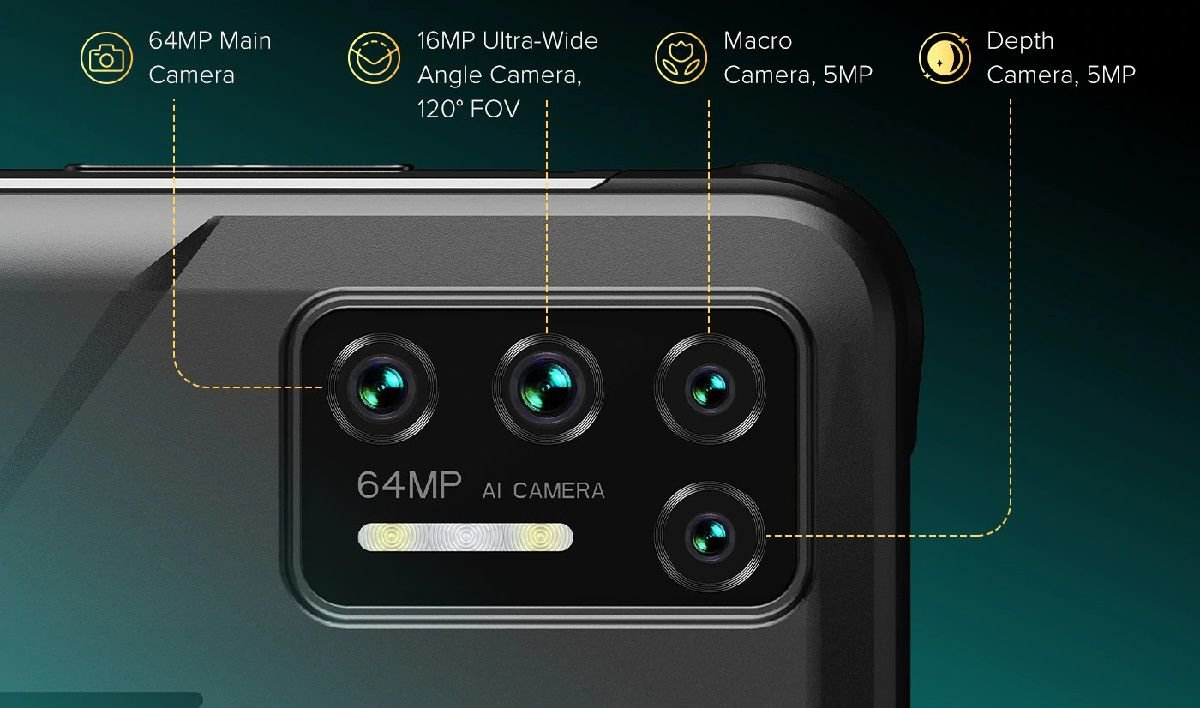 UMIDIGI Bison GT key specs and (1)