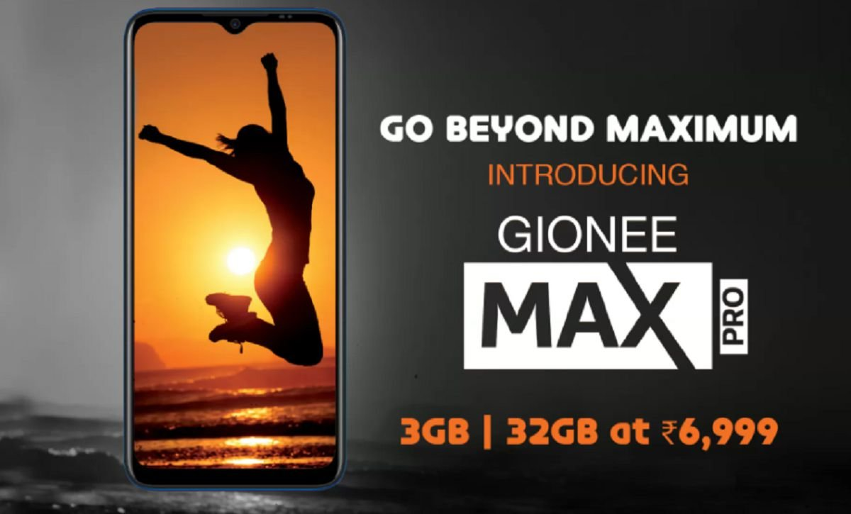 Gionee Max Pro announced in India at Rs. 6,999