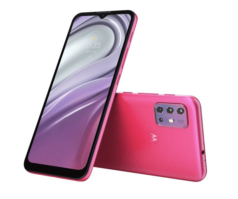 Motorola Moto G20 official with 90Hz display and 5,000mAh battery; specs, price and availability