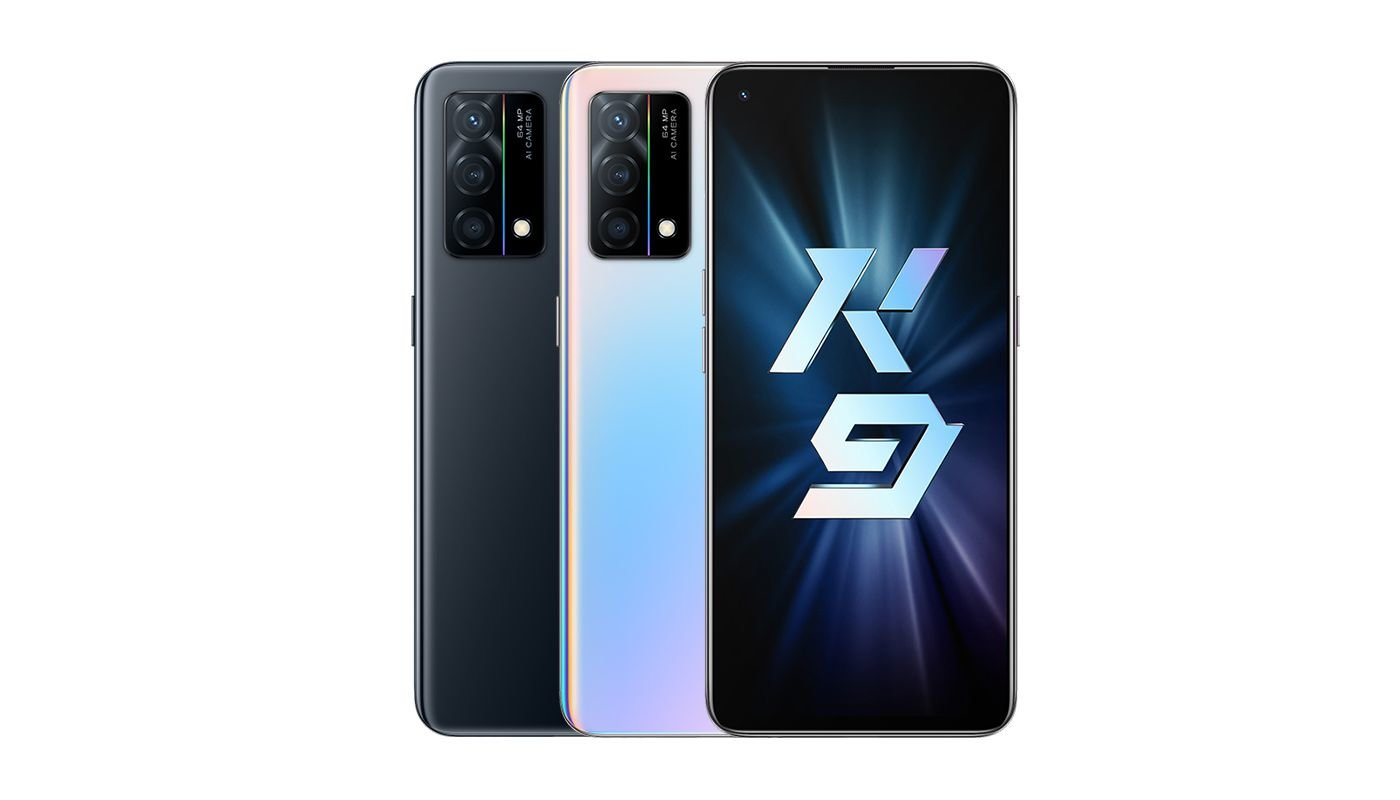 OPPO K9 5G renders released before launch on the 6th of May
