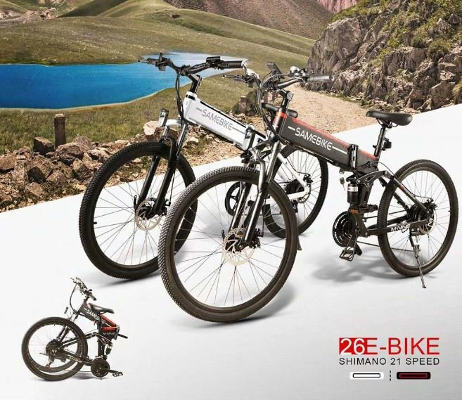 SAMEBIKE LO26 Folding Electric Bike