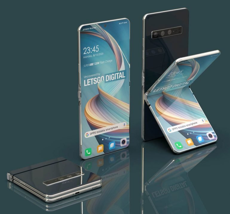 """Oppo's clamshell phone is on its way with a 7"""" screen."""