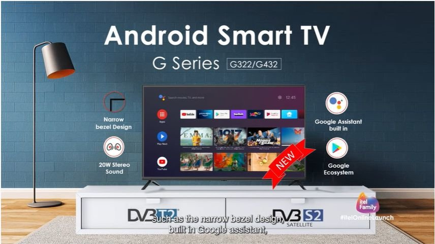 itel android tv G322 and G432