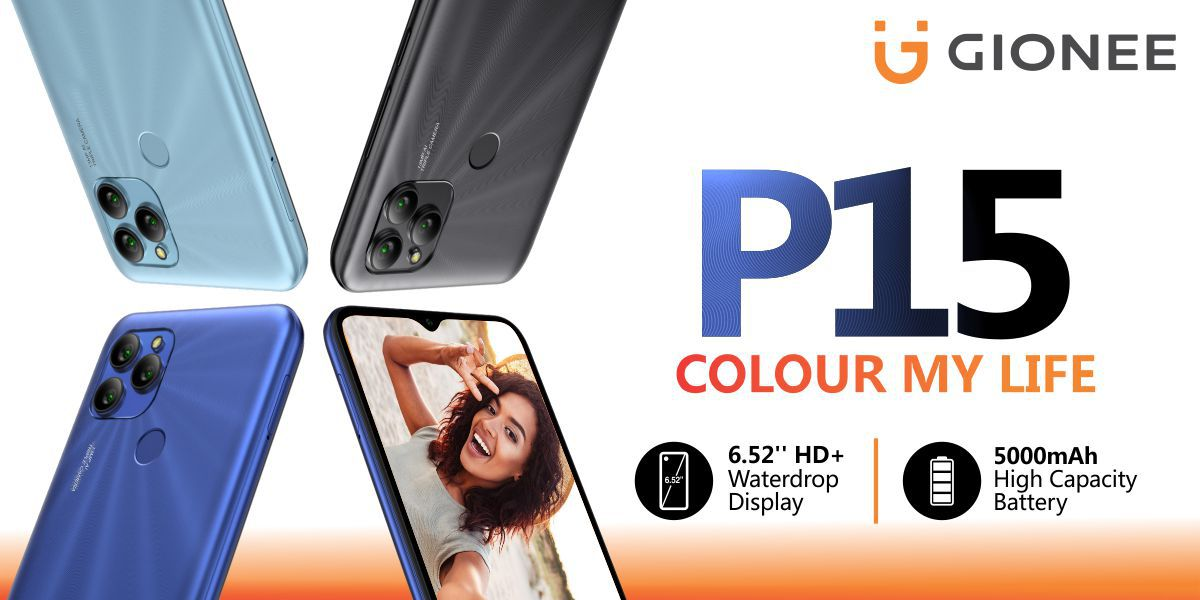 Standard Gionee P15 now official in Nigeria with UNISOC SC9863A CPU
