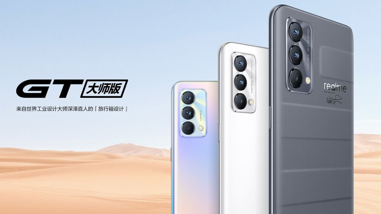realme gt master and Gt master Explorer edtion announced