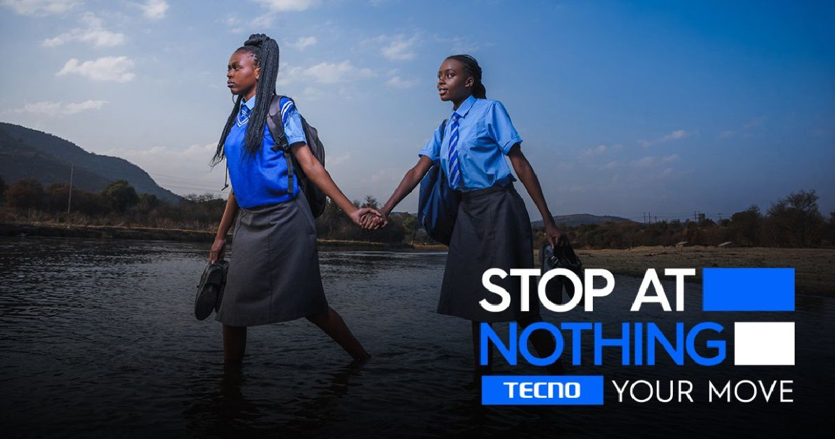 STOP AT NOTHING is Tecno's new brand slogan, will be inscribed on Spark 8
