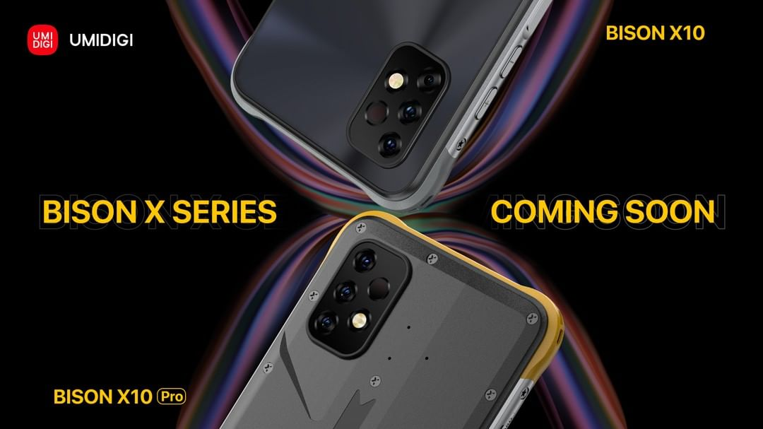"""UMIDIGI Bison X10 and X10 Pro enters into """"Coming Soon"""" official teasers"""