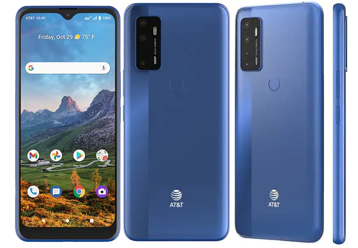 Radiant Max 5g Electric blue color