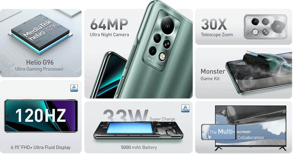 Features of infinix Note 11 Pro