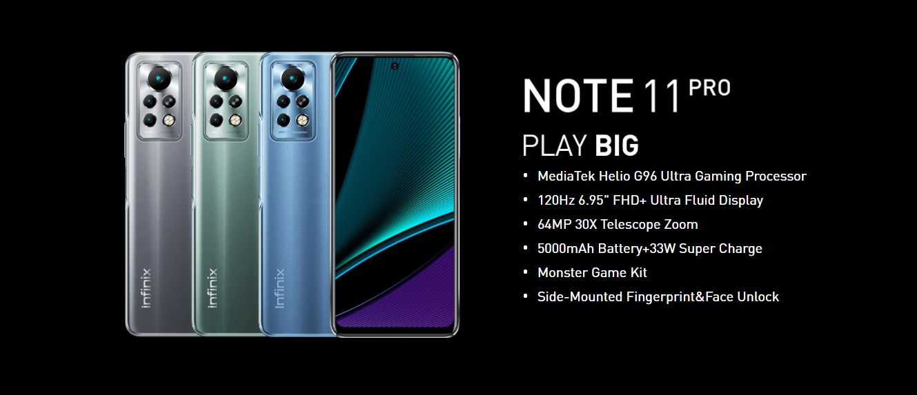 infinix Note 11 Pro now official