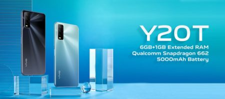 vivo y20t announced in india for rs 15490